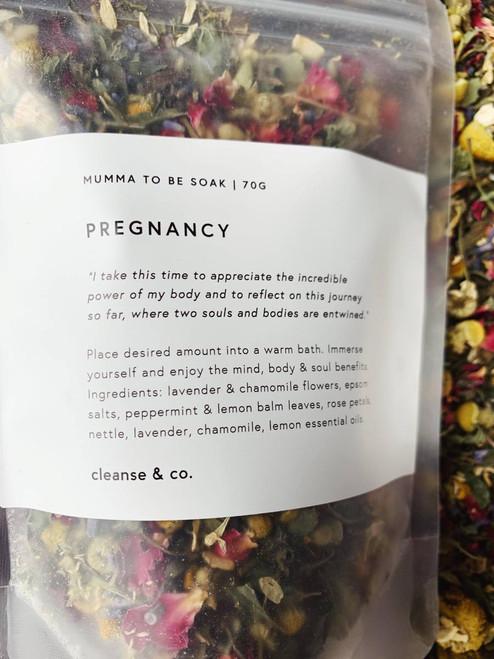 cleanse & co. Pregnancy Soak 70g