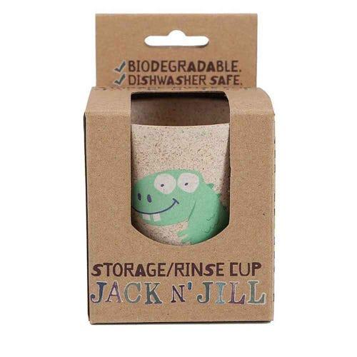 Jack N Jill Storage + Rinse Cup Dino