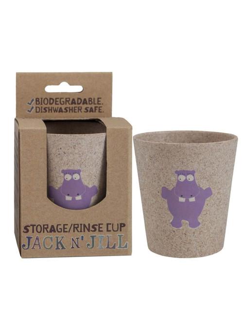 Jack N Jill Storage + Rinse Cup Hippo