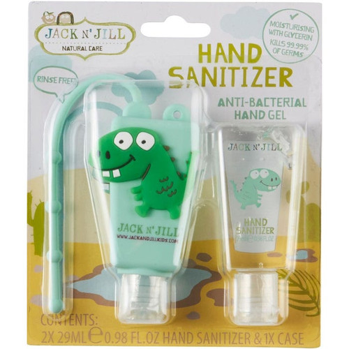 Jack N Jill Hand Sanitizer Alcohol Free Twin Pack Dino