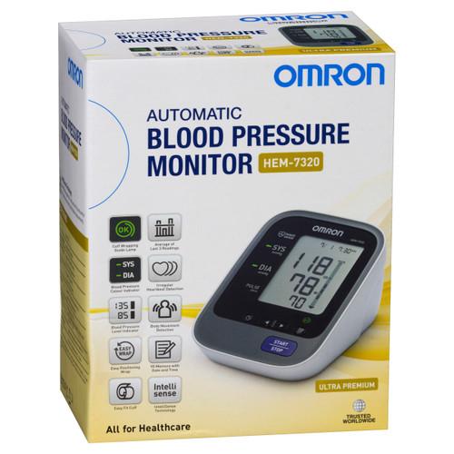 HEM7320 Ultra Premium Blood Pressure Monitor