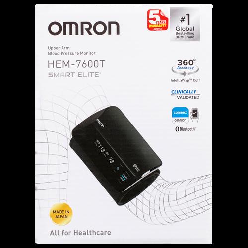 HEM7600T Smart Elite+ Blood Pressure Monitor