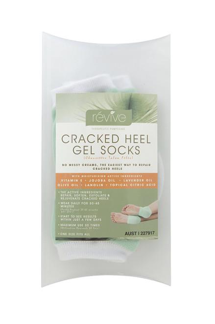 Révive Cracked Heel Gel Socks