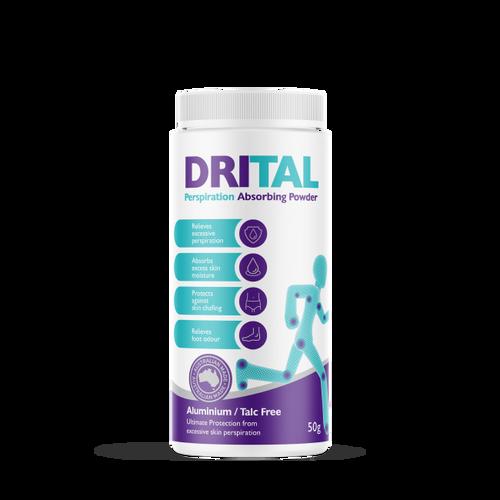 DriTal Perspiration Absorbing Powder 50g