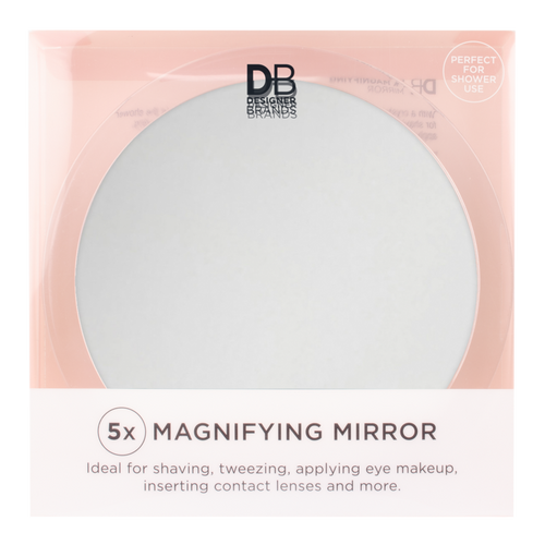 Designer Brands 5X Large Magnifying Mirror