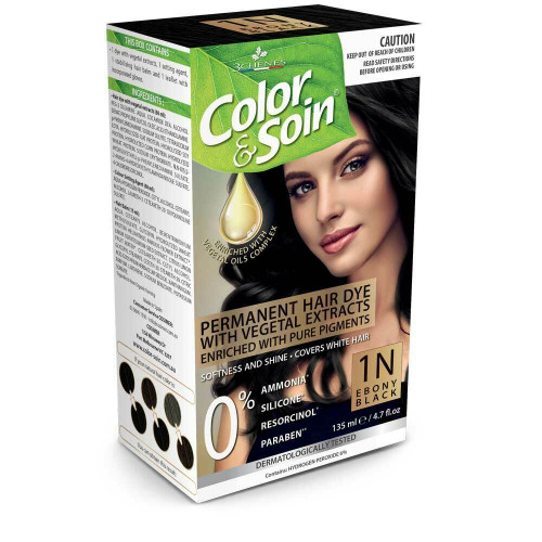 Color & Soin 1N Ebony Black 135ml