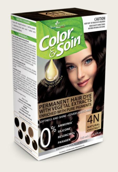 Color & Soin 4N Natural Chestnut 135ml