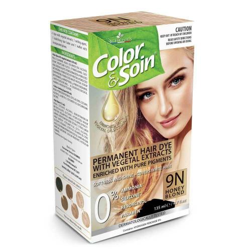 Color & Soin 9N Honey Blond 135ml