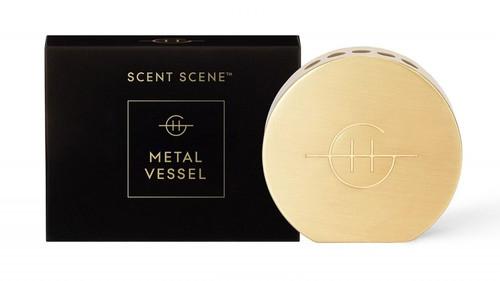 Glasshouse Fragrances Scent Scene Metal Vessel