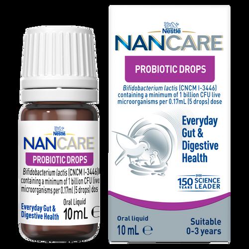 Nestlé NANCARE Probiotic Drops For Everyday Gut & Digestive Health 10ml