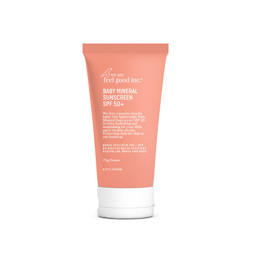 We Are Feel Good Inc. Baby Mineral Sunscreen SPF 50+ 75g
