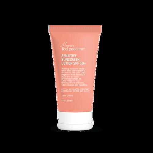 We Are Feel Good Inc. Sensitive Sunscreen Lotion SPF 50+ 75ml
