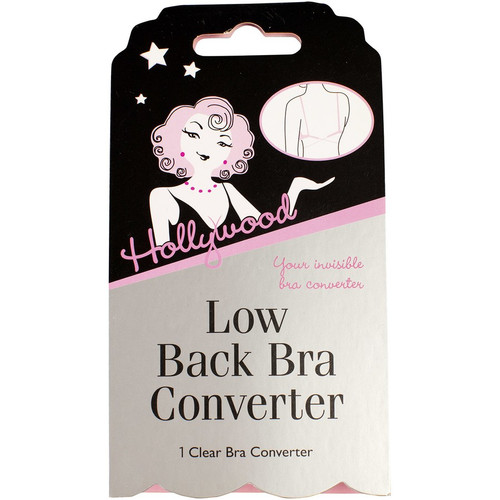 Hollywood Clear Low Back Bra Converter