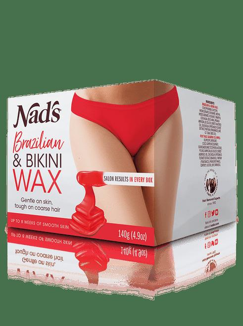 Nad's Hair Removal Brazilian & Bikini Wax Kit 140g
