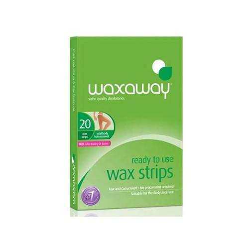 Waxaway Ready To Use Body Wax 20 Strips