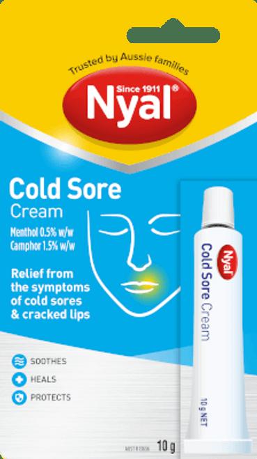 Nyal Cold Sore Cream 10g