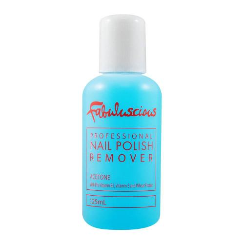 Fabuluscious Nail Polish Remover Acetone 125ml