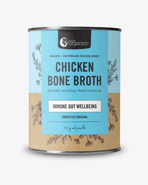 Chicken Bone Broth Immune Gut Wellbeing (Homestyle Original 125g)