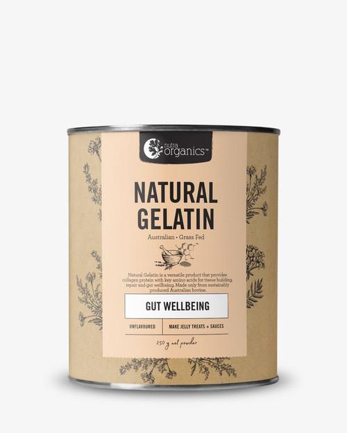 Natrual Gelatin Gut Wellbeing Unflavoured 250g