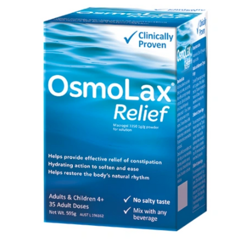OsmoLax Constipation Relief 35 Doses 595g