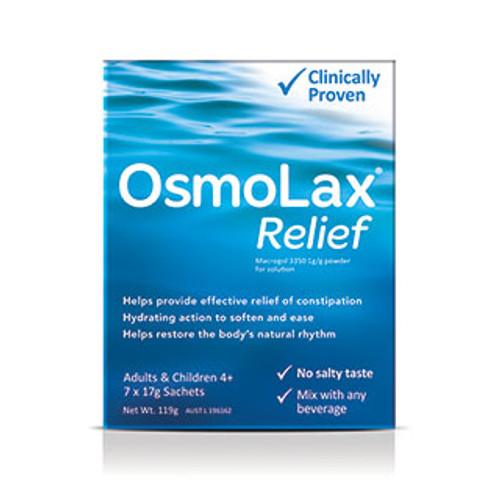 OsmoLax Constipation Relief Travel Pack 7 Sachets
