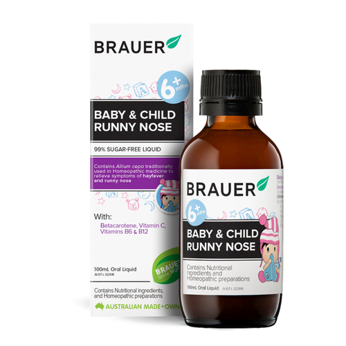 Brauer Baby & Child Runny Nose 100ml