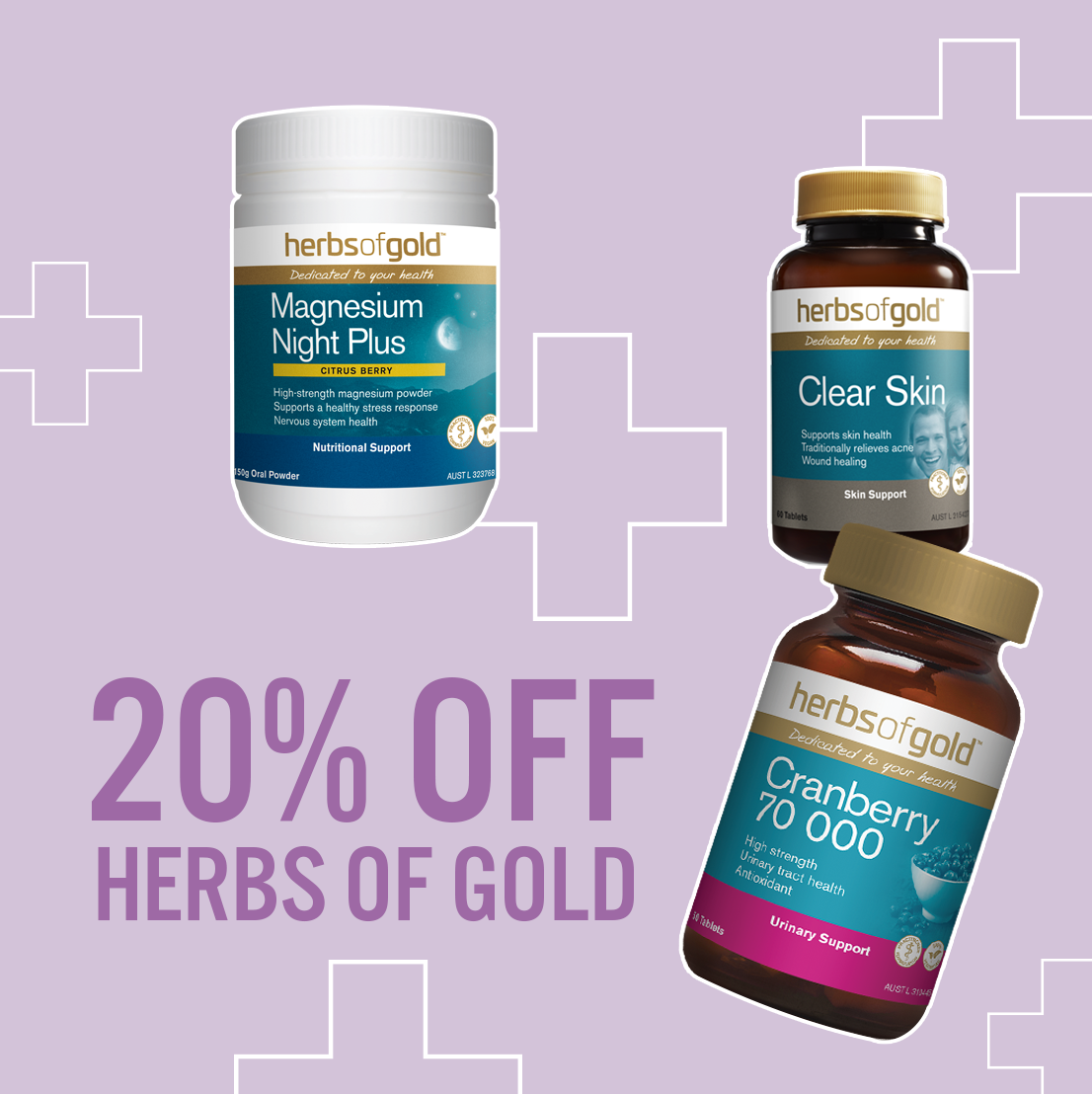 20% off selected therapeutic hair products