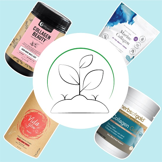 Natural beauty supplements