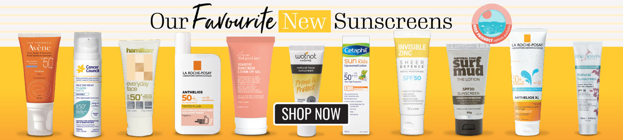 Our Favourite New Sunscreens have arrived - shop now