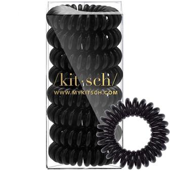 Black Hair Coils 8 Pk