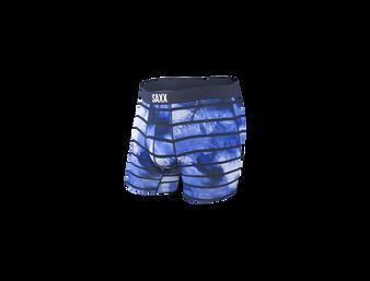 Navy Tye Dye Stripe
