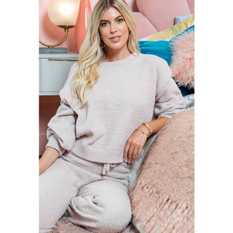 Cozy Soft Lounge Top