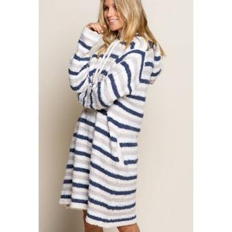 Blueberry Ash Stripe Pajama