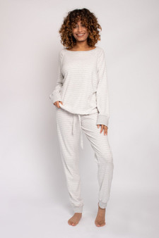 Organic Striped Cotton PJ Set