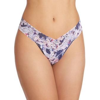 Floral Breeze Original Rise Thong - Holiday 20
