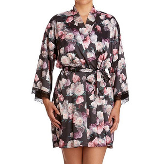 Satin Roses Robe - Holiday 20