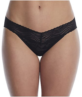 Zebra Lace Low Rise Thong SS21
