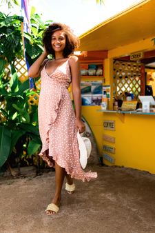 Marbella Ruffle Dress