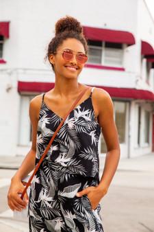 Waikiki Camisole-Palm Print