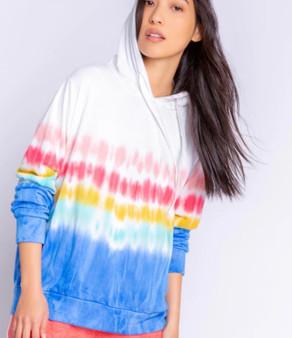 Rainbow Sunsets Sweater Tee