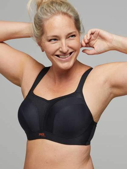 Wired Sports Bra - Black