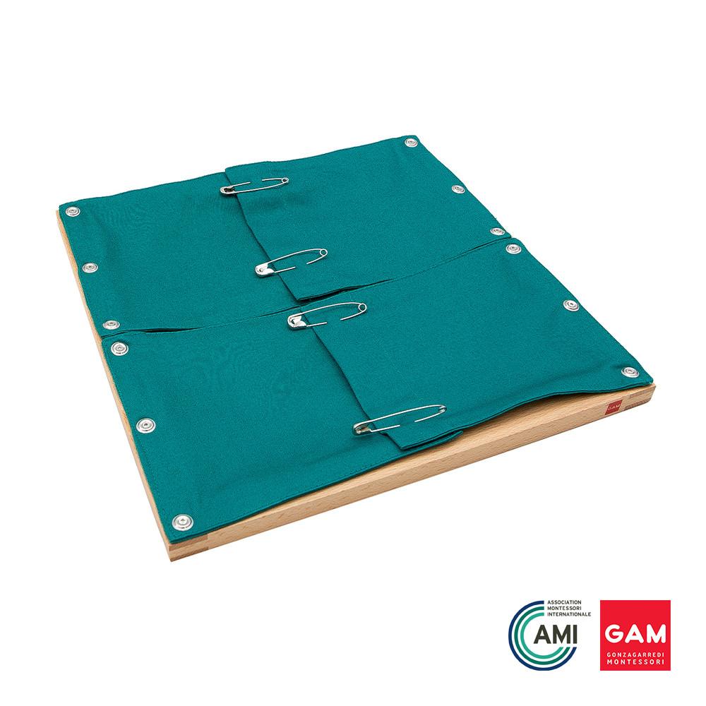 Safety Pin Frame by Gonzagarredi Montessori