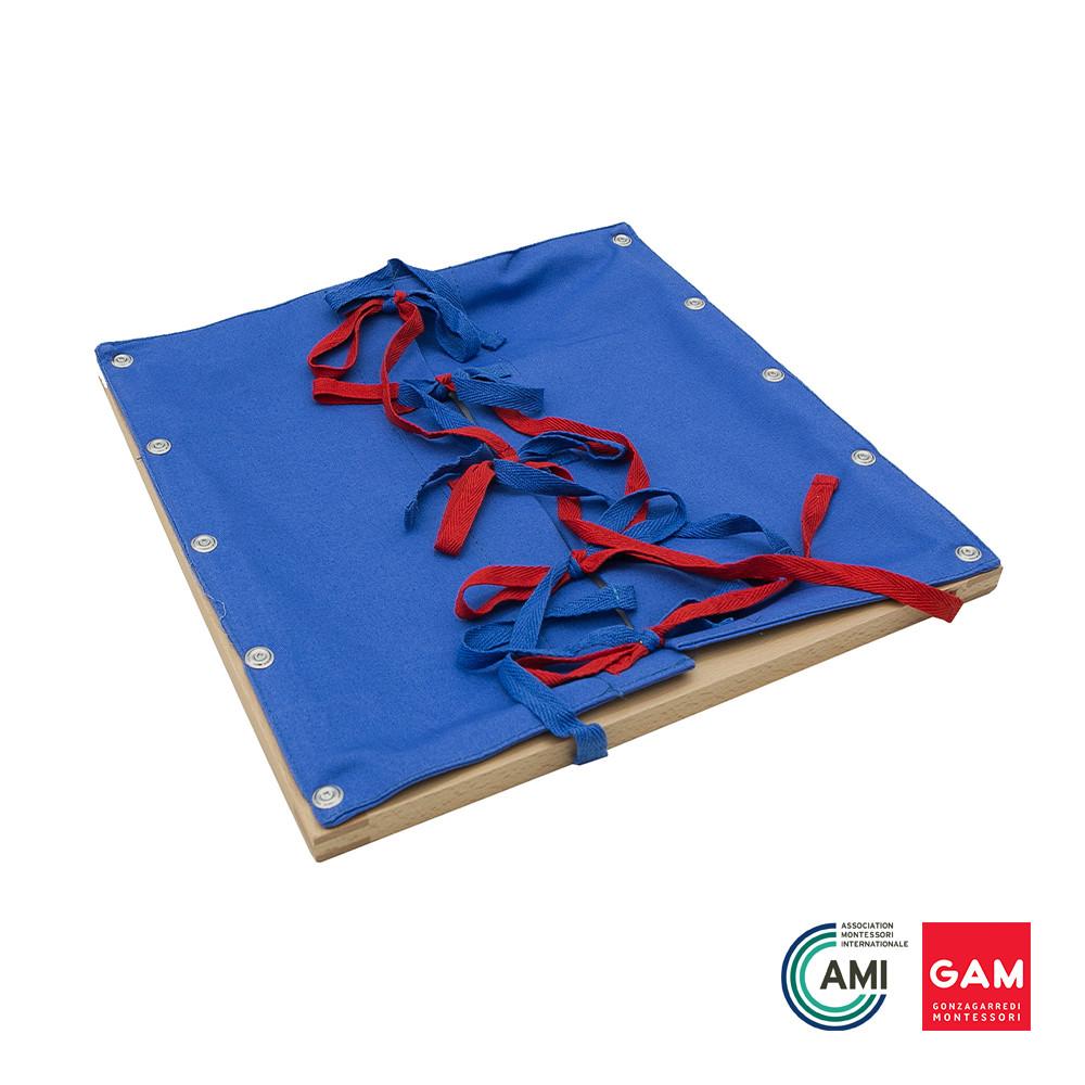 Bow Tying Frame by Gonzagarredi Montessori