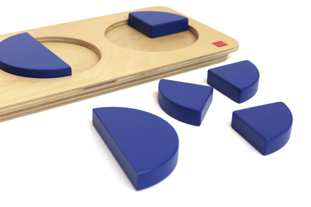 Circles puzzle by Gonzagarredi Montessori