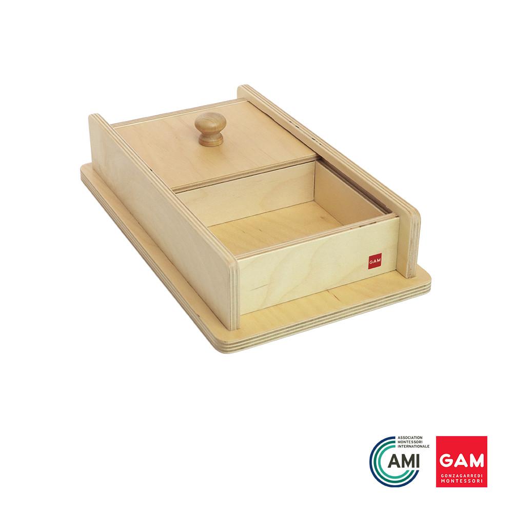 Box with Sliding Lid by Gonzagarredi Montessori
