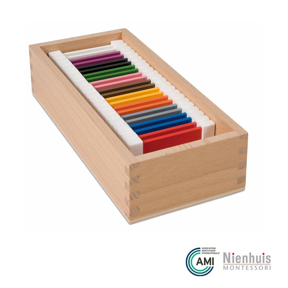 Color Box 2; Montessori materials by Nienhuis