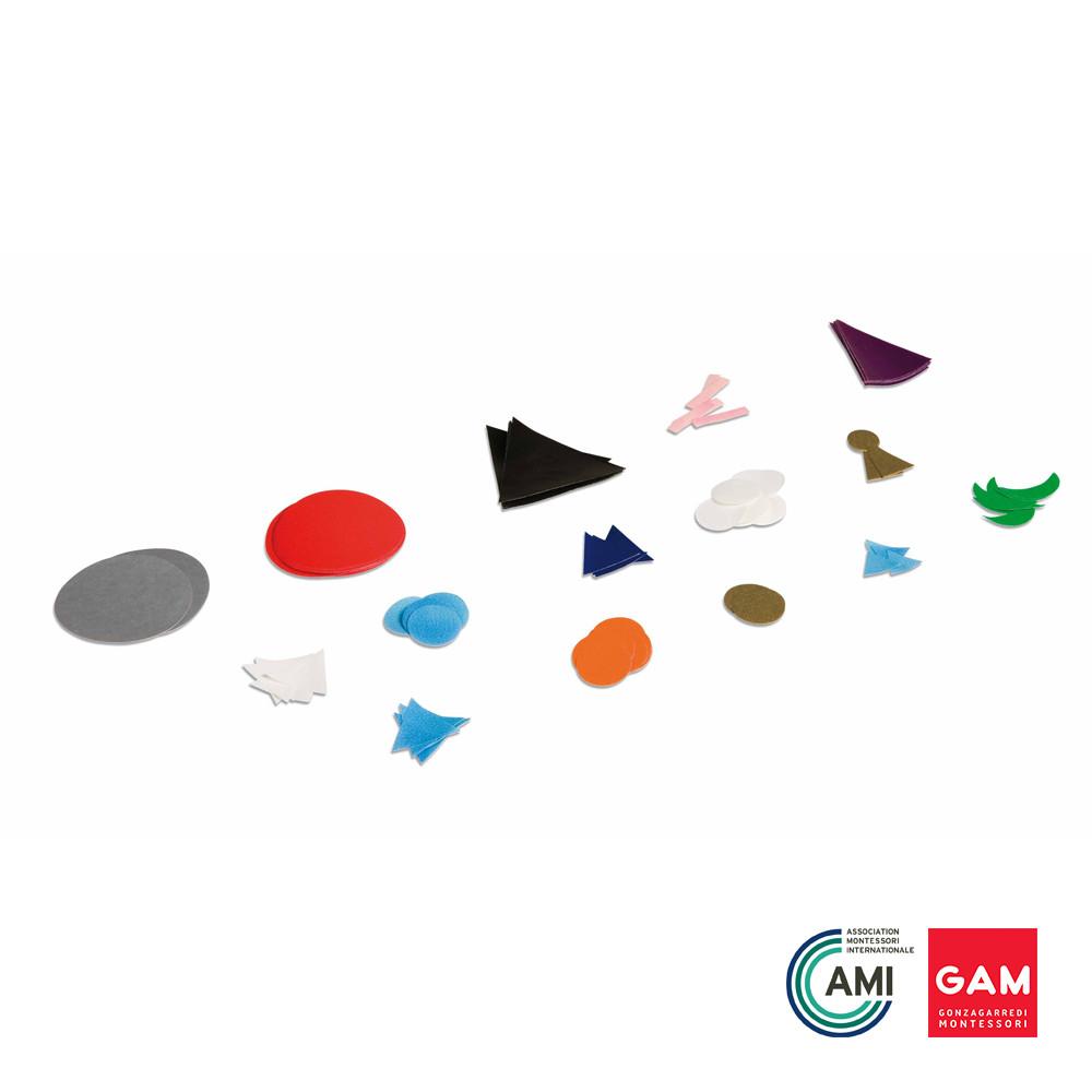 Plastic Grammar Symbols 15 sets by Gonzagarredi Montessori