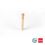 1St Cylinder Of Block #2/#3 (Thinnest) by Gonzagarredi Montessori