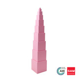 Pink Tower by Gonzagarredi Montessori