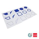 Geometric Form Cards by Gonzagarredi Montessori
